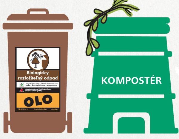 OLO začalo s distribúciou hnedých kontajnerov na bioodpad zo záhrad