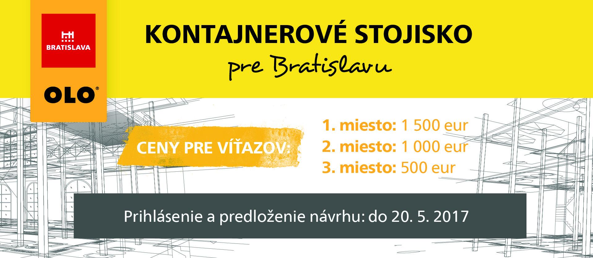Kontajnerové stojisko pre Bratislavu