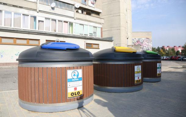 V Bratislave pribudli ďalšie polopodzemné kontajnery, v mestskej štvrti Vrakuňa