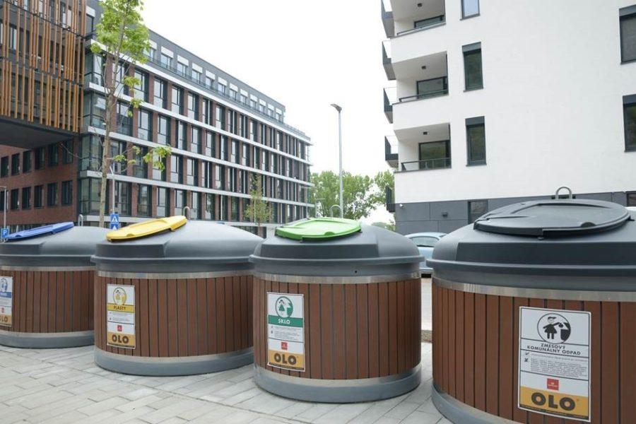 Mestská spoločnosť OLO poskytne finančný príspevok na vybudovanie ďalších polopodzemných kontajnerov v Bratislave