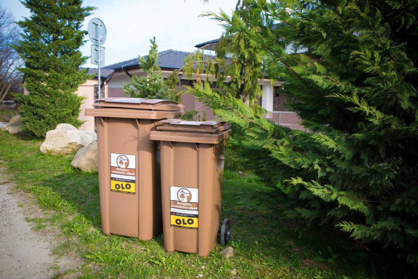 Mestská spoločnosť OLO začne s odvozom bio odpadu z hnedých zberných nádob od 1. 3. 2019