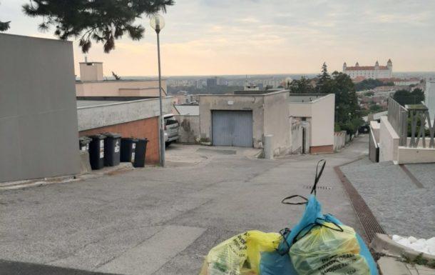 Vrecový zber z rodinných domov v Bratislave – 2. etapa