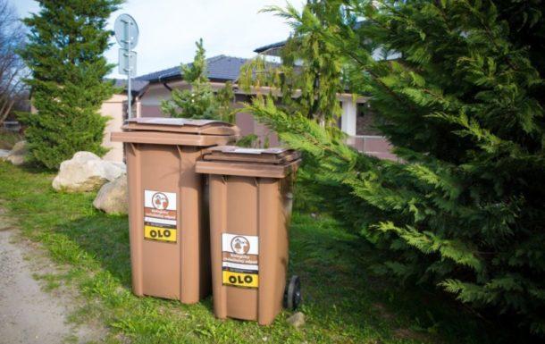 Odvoz biologicky rozložiteľného odpadu z hnedých zberných nádob bude prebiehať od pondelka 1. 3. 2021