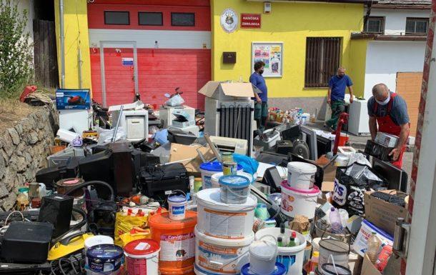 Jarný zber komunálnych odpadov z domácností s obsahom škodlivých látok na území Bratislavy
